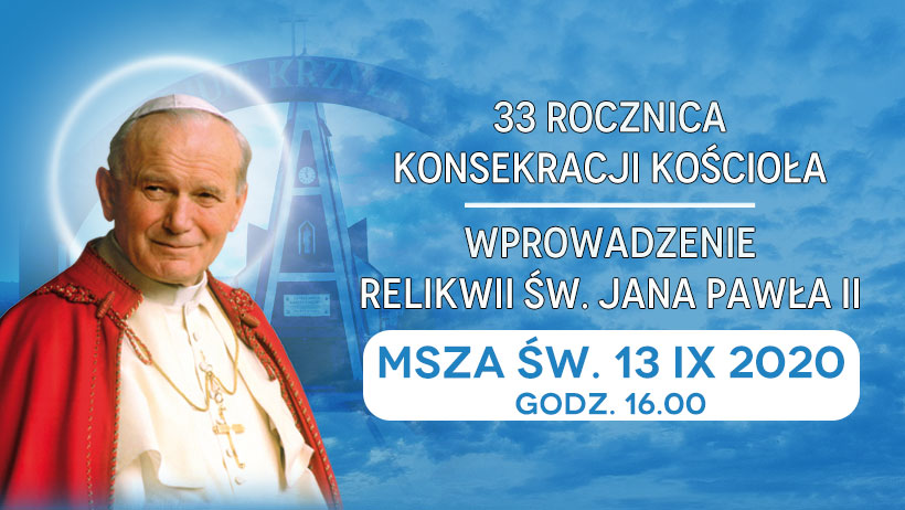 Relikwie św.Jana Pawła II